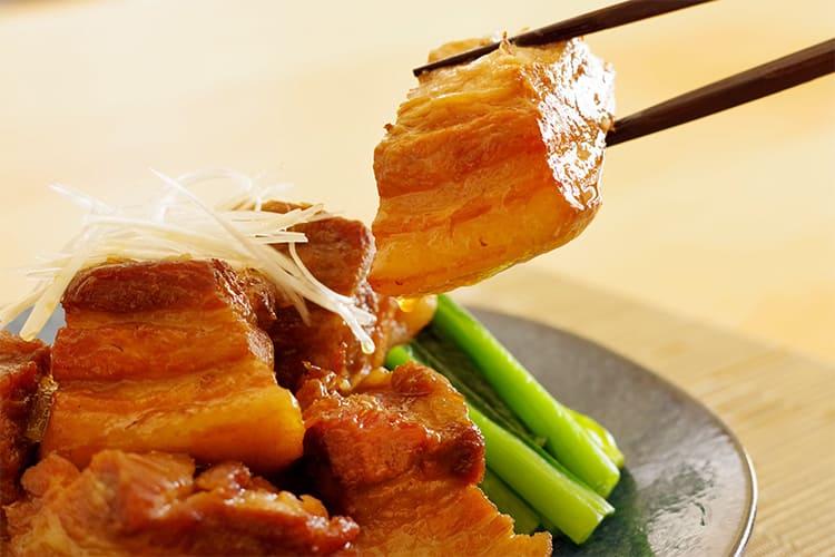 きなこ豚バラ肉の角煮