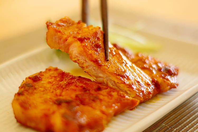 きなこ豚の味噌焼き