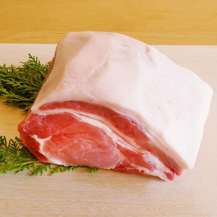 きなこ豚ロース肉 ブロック 1kg